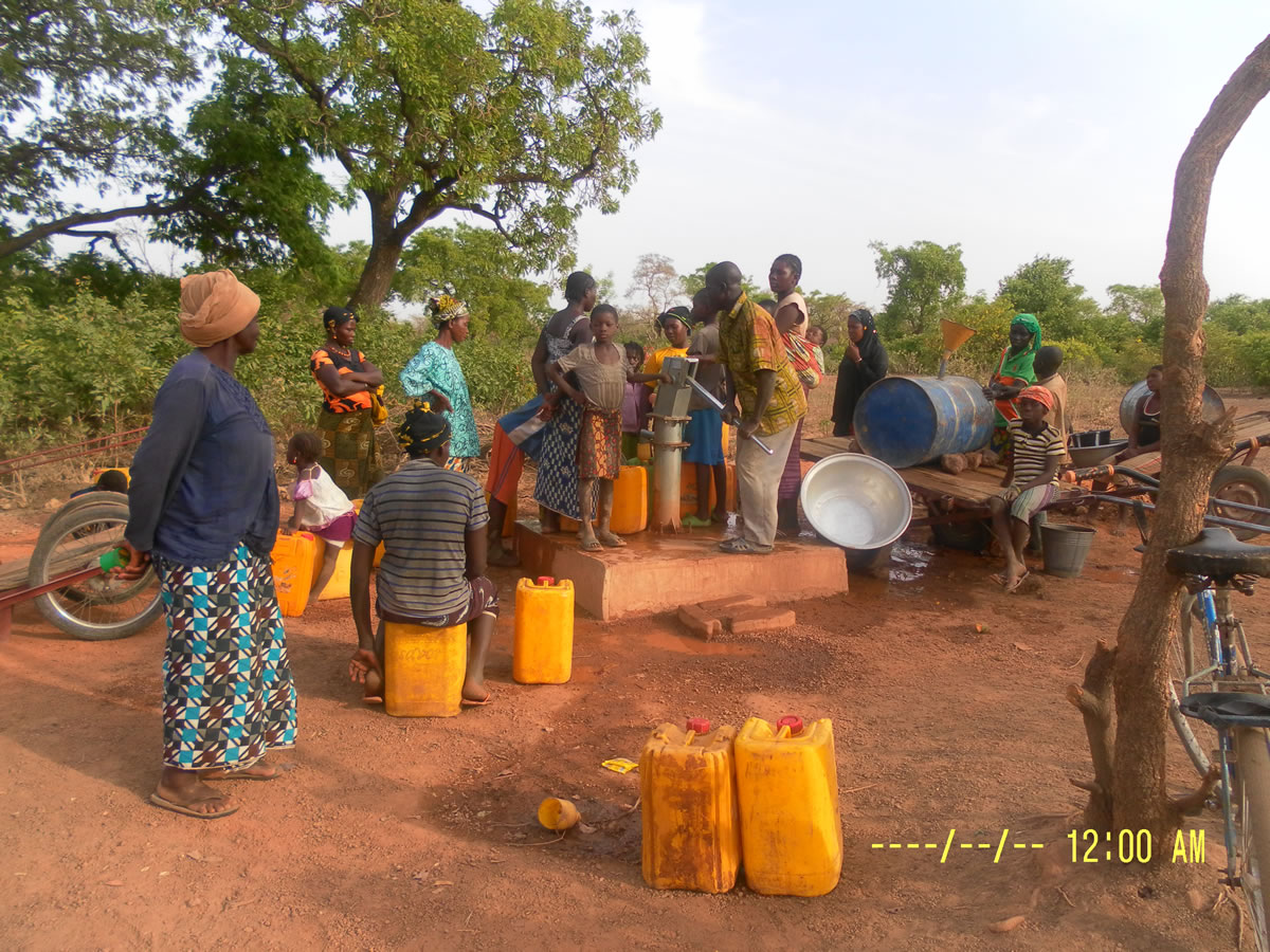 More wells in Burkino Faso
