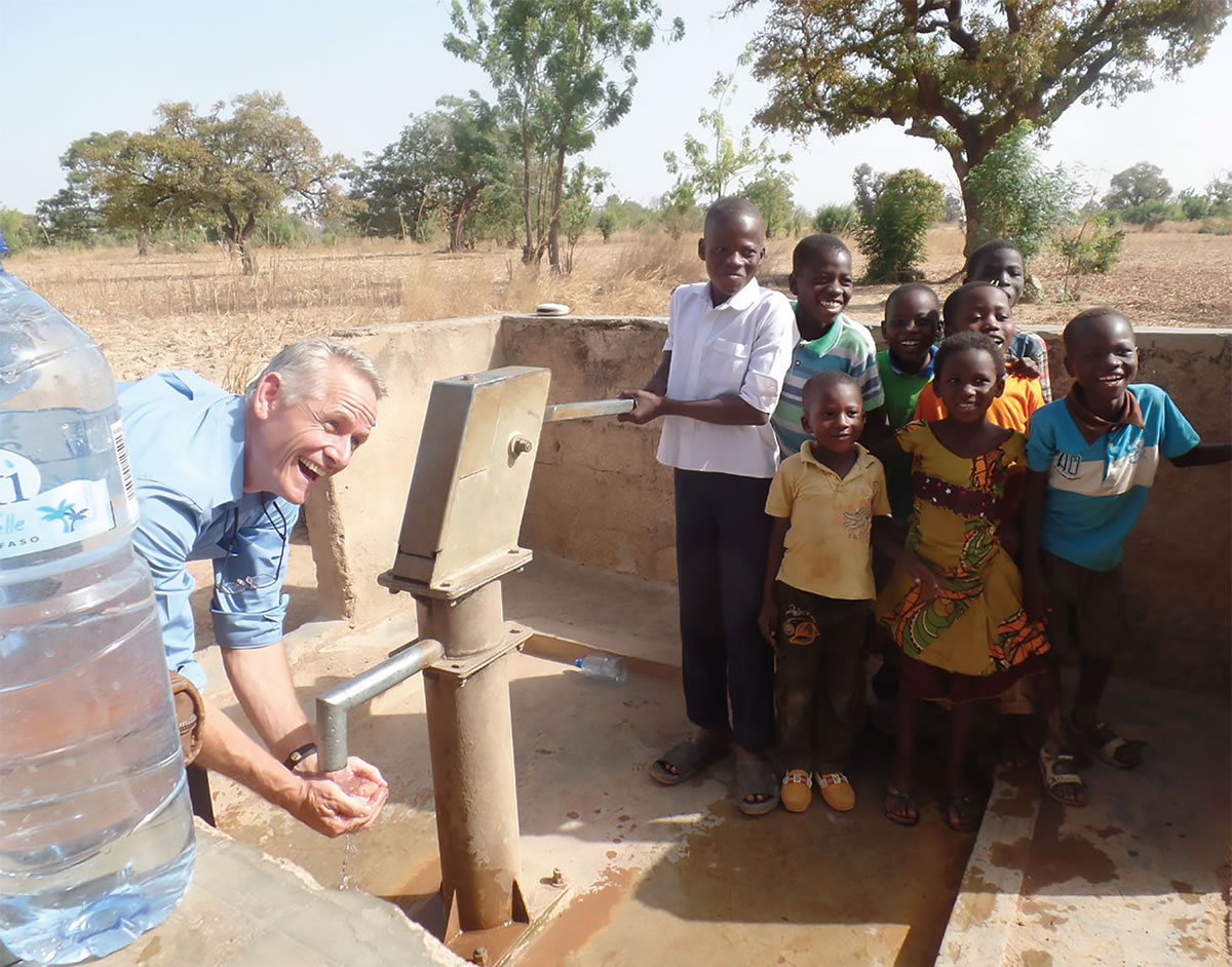Wells that Myra's Wells has drilled so far - Water from new well