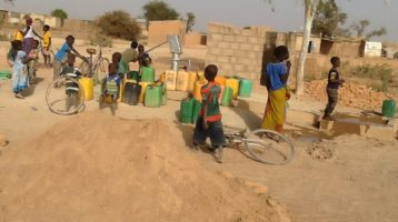 Another well in Burkina Faso from Myra's Wells