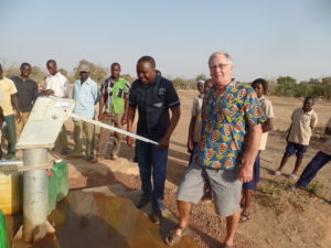 well at Dapelgo in Burkina Faso which Myra's Wells provided 2 years ago 3