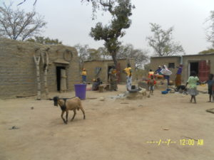 aiming for 100 wells providing clean water in Burkina Faso 2