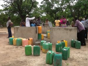 clean water will help to unite this village in Burkina Faso