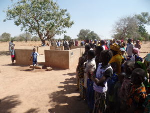 Burkina Faso, where villagers are returning because they have a well