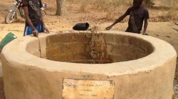 Kourkour in Burkina Faso now has clean water