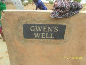 Gwen's well