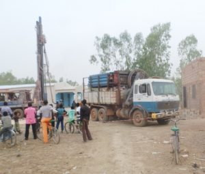 Story of a new well - lorries