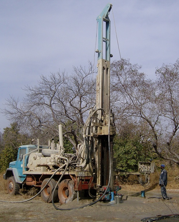 Diary of drilling for water