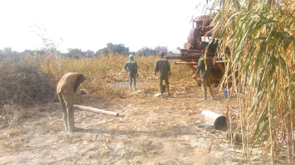 successful in drilling wells
