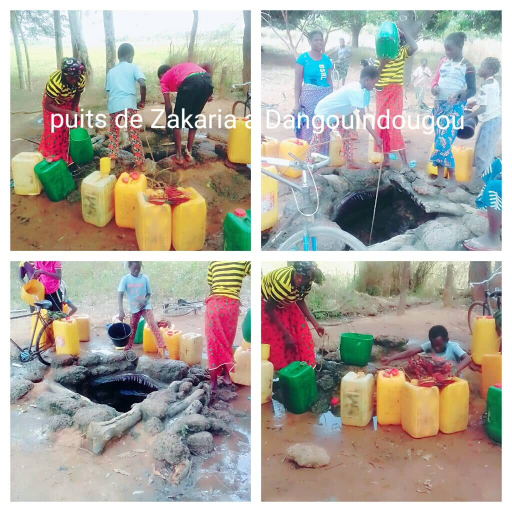 a village helped with clean water